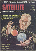 Philip K. Dick A Glass of Darkness cover