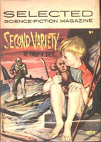 Philip K. Dick Second Variety cover