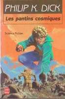 Philip K. Dick The Cosmic Puppets cover LES PANTINS COSMIQUES