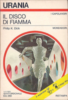 Philip K. Dick Solar Lottery cover IL DISCO DI FIAMMA