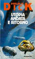Philip K. Dick The Unteleported Man cover  ANDATA E RITORNO