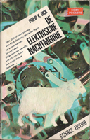 Philip K. Dick Do Androids Dream <br>of Electric Sheep? cover DE ELEKTRISCHE NACHTMERRIE