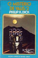 Philip K. Dick Book Cover o mistero de valis