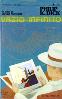 Philip K. Dick Flow My Tears, <br> the Policeman Said cover VAZIO INFINITO