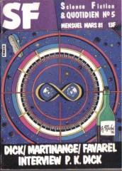 """Science Fiction et quotidien n°5, mars 1981 """"Le souvenir qui venait du froid"""" philip k dick"""