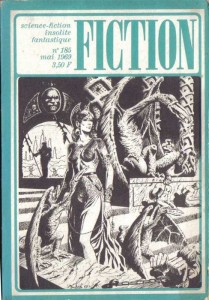 Fiction No 185, mai 1969, Un auteur eminent philip k dick
