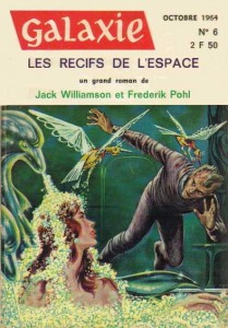 "Galaxie No 6, novembre 1964, ""Ce que disent les morts"" philip k dick"