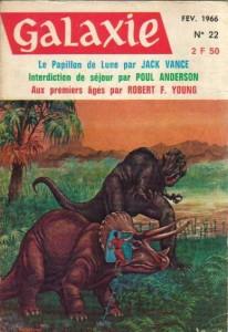"""Galaxie No 22, février 1966, """"Si Cemoli n'existait pas"""" philip k dick"""