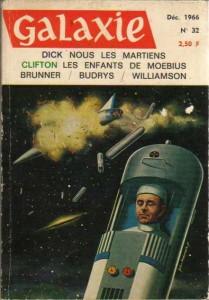 """laxie No 32, Décembre 1966, """"Nous les martiens"""" (première partie) philip k dick"""