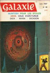 "Galaxie No 38, juin 1967, ""Loué soit Mercer"" philip k dick"