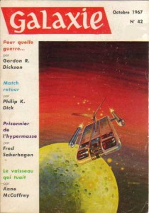 "Galaxie No 42 octobre 1967, ""Match retour"" philip k dick"