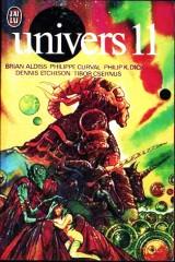 """Univers 11, J'AI LU, no 786, 1977 """"Où se niche le wub?"""" philip k dick"""