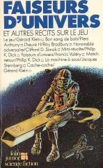 """faiFaiseurs d'univers et autres récits sur le jeu Folio Junior 198,4 """"Match Retour"""" philip k dick"""
