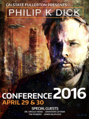 Affiche de la conférence Philip K Dick